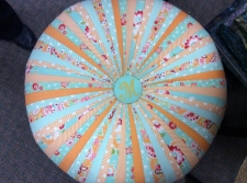 Eight Fabric Tuffet (6)