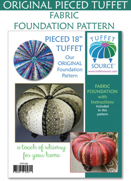Tuffet Fabric Foundation Pattern