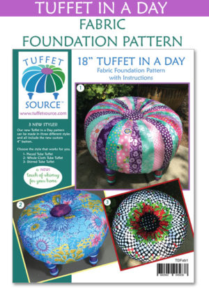 Tuffet In A Day Fabric Foundation Pattern