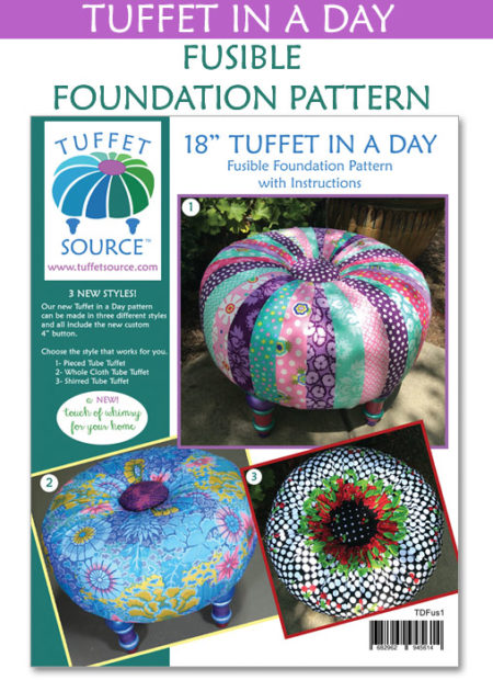 Tuffet In A Day Fusible Foundation Pattern